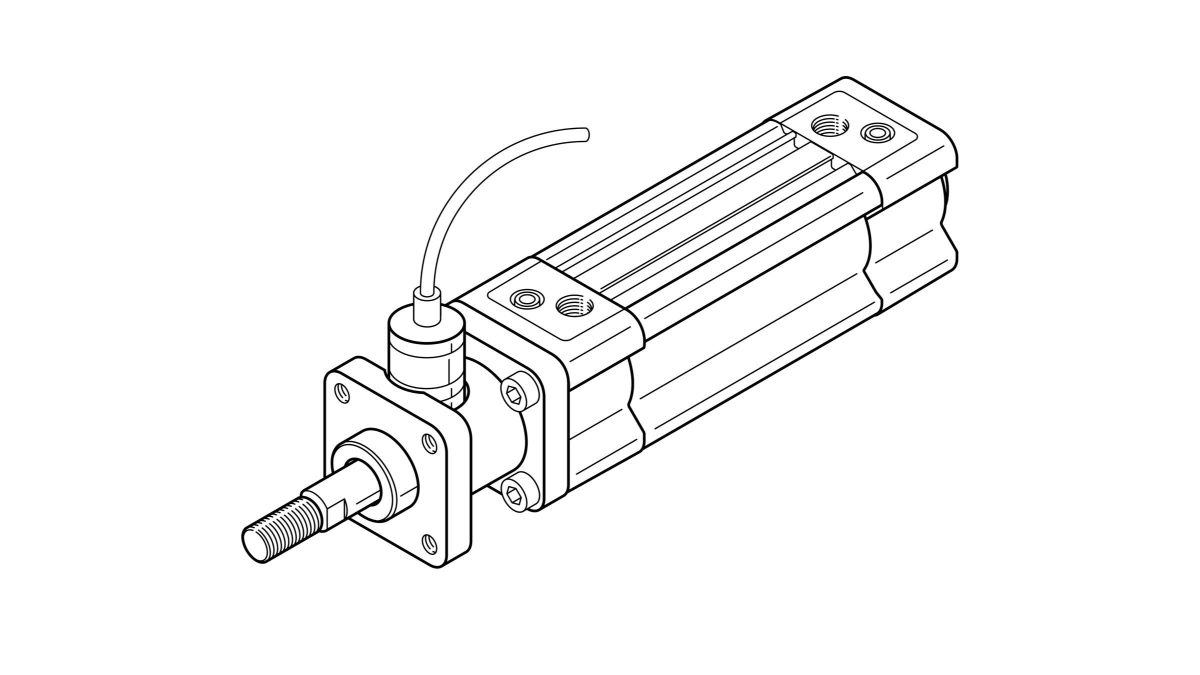 montageanleitung feststellpatrone in feststelleinheit an pneumatischem zylinder